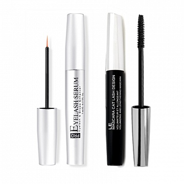PRO Ögonfransserum + Mascara Volumizing & Lengthening