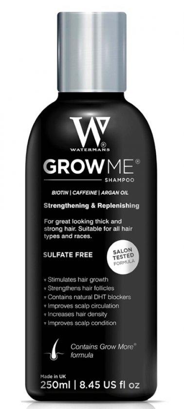 watermans hair growth shampoo schampo sverige mot håravfall stimulerar hårväxt